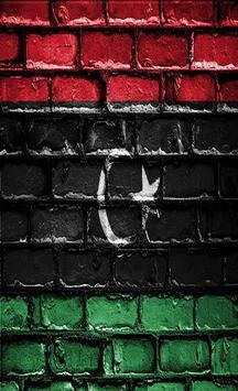 Libya Flag Wallpapers poster