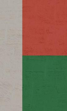 Madagascar Flag Wallpapers poster