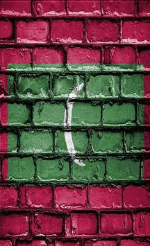 Maldives Flag Wallpapers screenshot 1