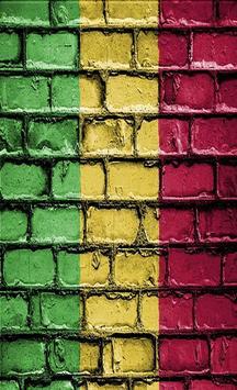 Mali Flag Wallpapers poster