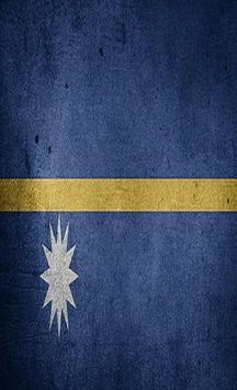 Nauru Flag Wallpapers poster