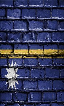 Nauru Flag Wallpapers screenshot 1