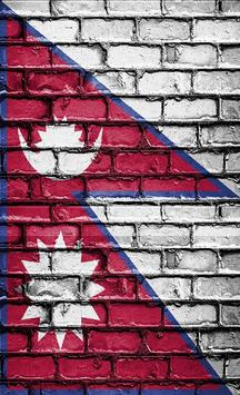Nepal Flag Wallpapers poster