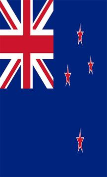 New Zealand Flag Wallpapers poster
