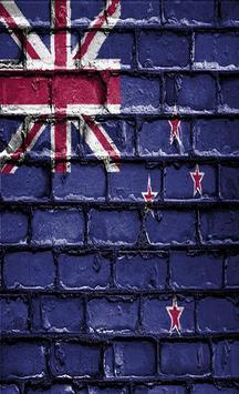 New Zealand Flag Wallpapers screenshot 1