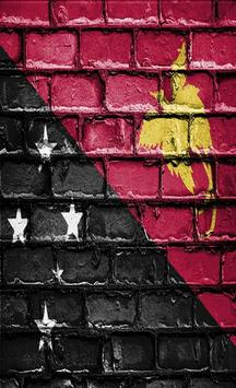 Papua New Guinea Flag Wallpapers poster