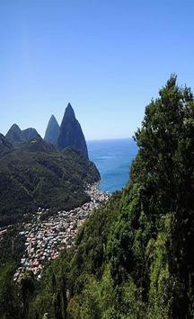 Saint Lucia Wallpapers Travel apk screenshot