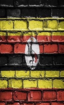 Uganda Flag Wallpapers poster