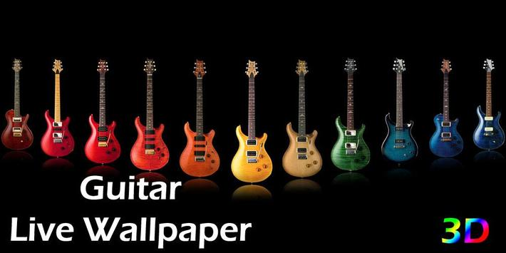 3D Guitar Live Wallpaper poster