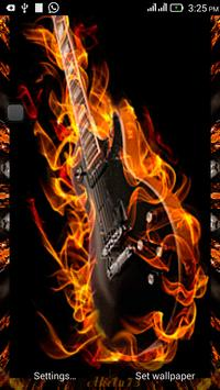 3D Guitar Live Wallpaper apk screenshot