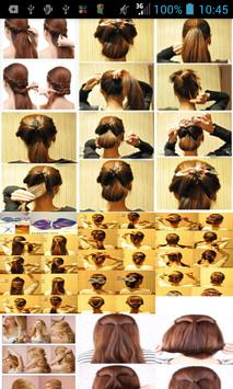 Bridal Hairstyles Step Poster