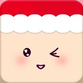 Kawaii Christmas Wallpaper icon