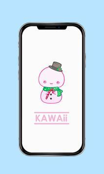 Kawaii Christmas Wallpaper screenshot 4