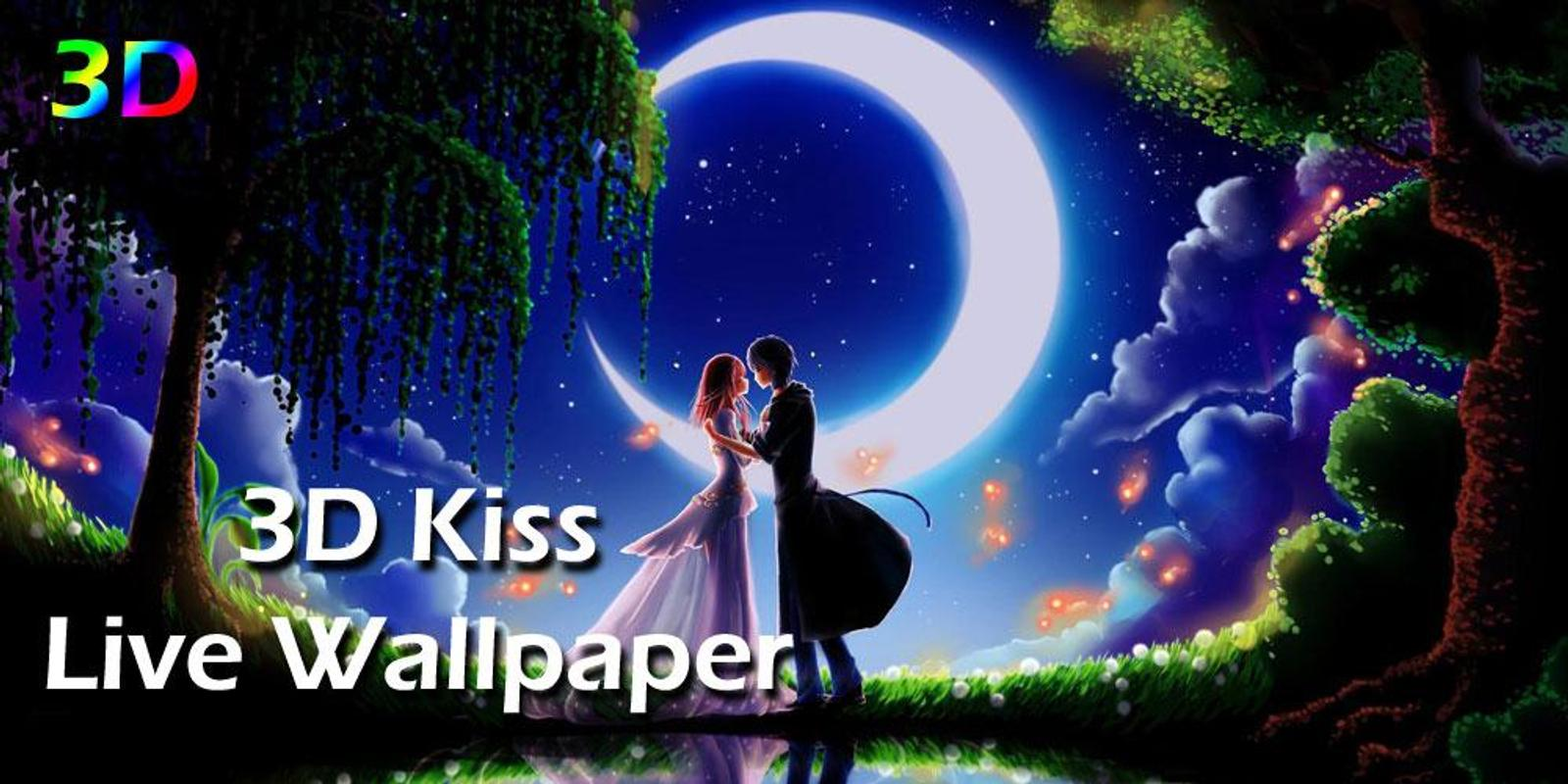3D Kiss Live Wallpaper poster ...