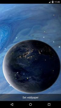 Planet 15 Live Wallpaper apk screenshot