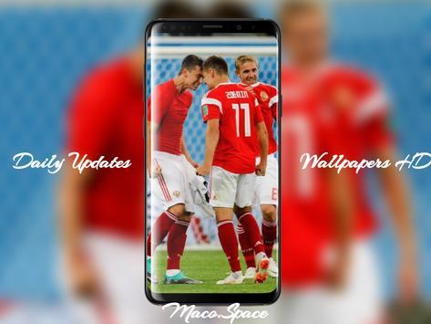 Russia Football team wallpapers screenshot 6