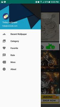 Todays Wallpaper apk screenshot