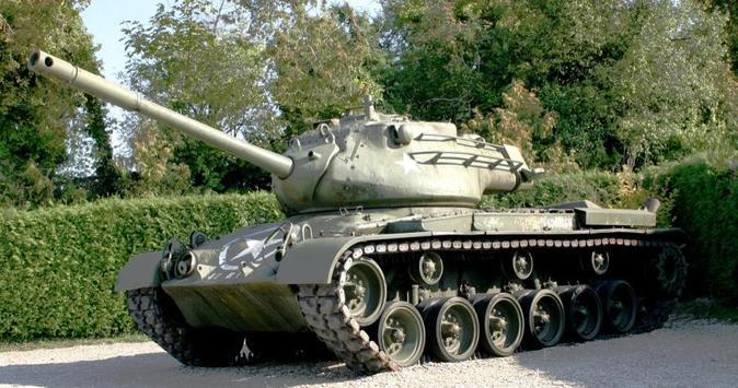 Patton Tanks Wallpaper Images poster