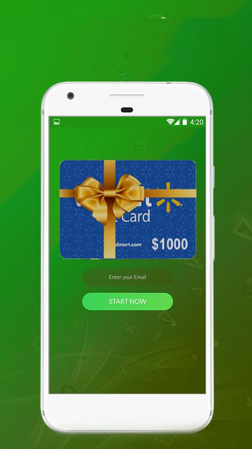 Free Generator Walmart Gift Card for Android - APK Download