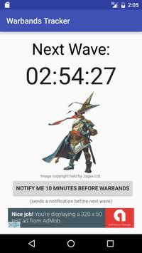 Runescape Warbands Tracker poster