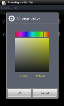 DigitalClock Simple screenshot 3