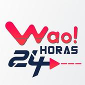 Wao 24 Horas icono