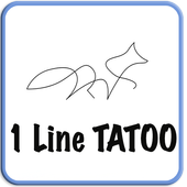 1 Line - Tattoo master icon