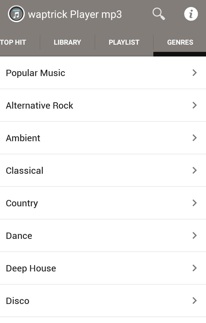 Waptrick Player Music Mp3 for Android - APK Download