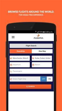 Flightia - Find Cheap Flights poster