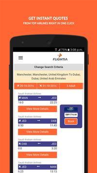 Flightia - Find Cheap Flights apk screenshot