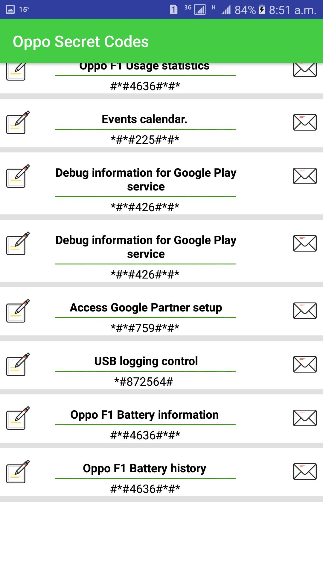 Secret Codes of Oppo Mobiles : for Android - APK Download