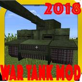 2018 War Tank MCPE Mod! icon