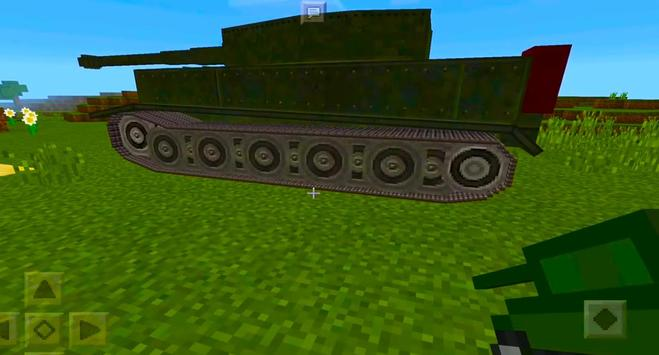 2018 War Tank MCPE Mod! screenshot 12