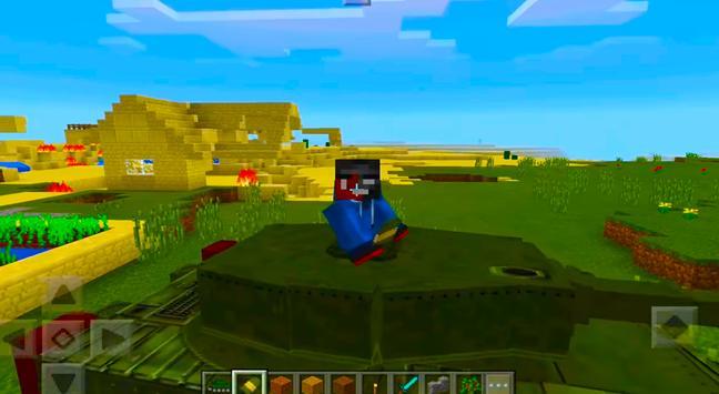 2018 War Tank MCPE Mod! screenshot 5