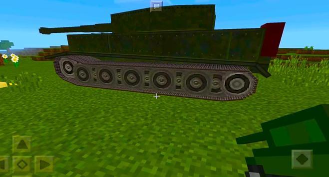 2018 War Tank MCPE Mod! screenshot 6
