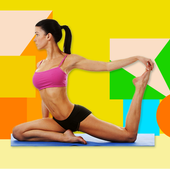 Stretching & flexibility - cool down exercises icon