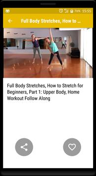 Stretching & flexibility - cool down exercises screenshot 4