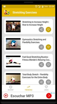 Stretching & flexibility - cool down exercises screenshot 5