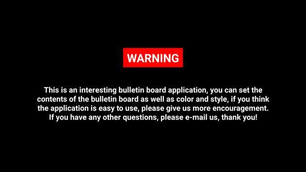 WARNING screenshot 5