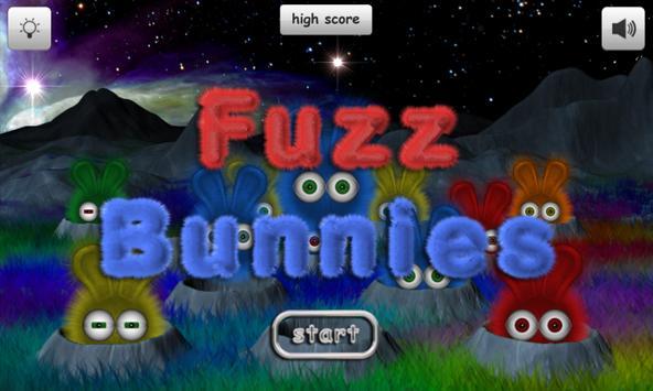 Fuzz Bunnies Free poster