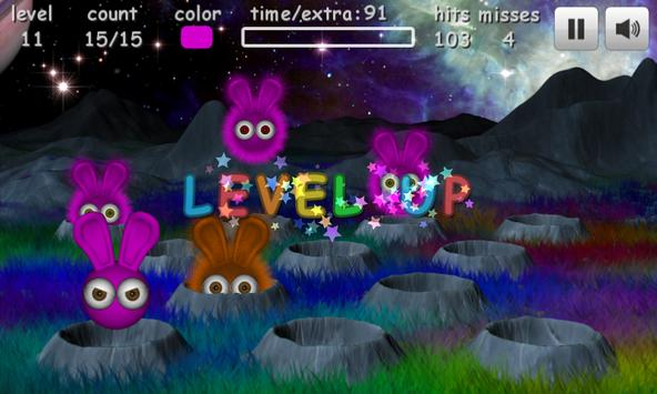 Fuzz Bunnies Free apk screenshot