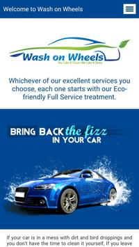 Wash on Wheels - Pune poster