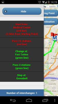 Washington DC Metro Routes screenshot 11