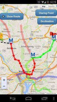 Washington DC Metro Routes screenshot 7