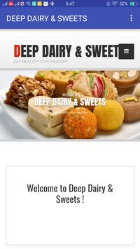 DEEP DAIRY & SWEETS poster