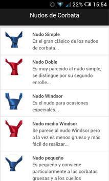 Nudos de Corbata poster