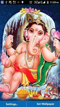 Ganesh Images LWP -Ganesh Chaturthi Wallpaper 2017 screenshot 2