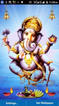 Ganesh Images LWP -Ganesh Chaturthi Wallpaper 2017 screenshot 7