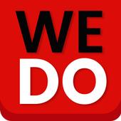 WeDo making volunteering easy icon