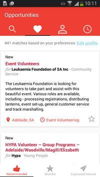 WeDo making volunteering easy poster